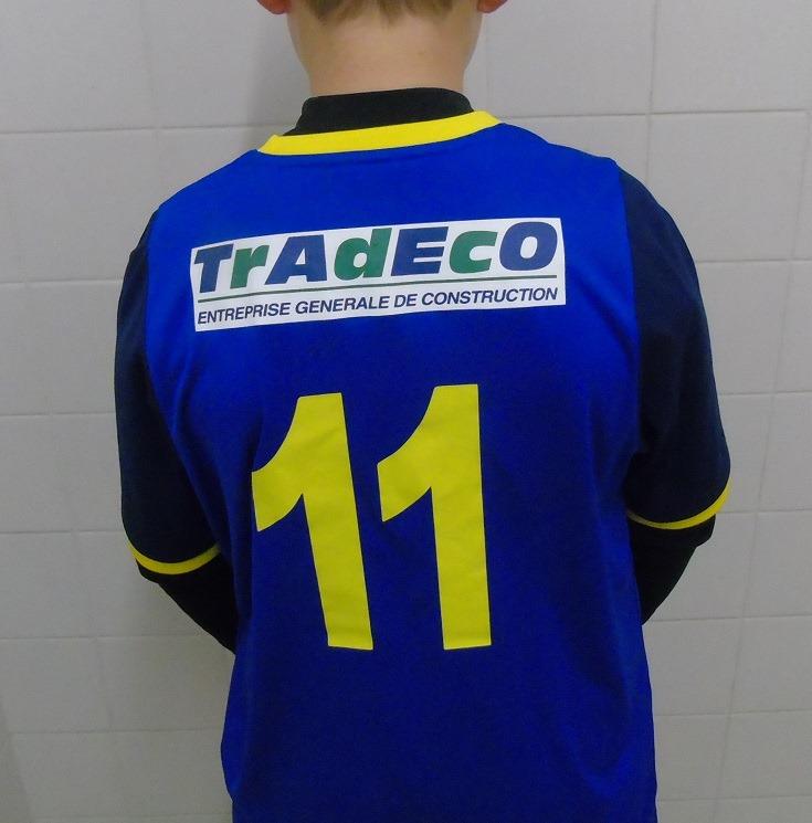 Nouveaux maillots et des vestes pour les U13