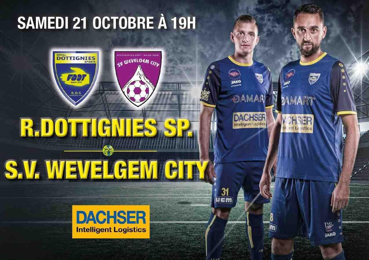 Le RDS équipe première P2 reçoit le SV. Wevelgem City