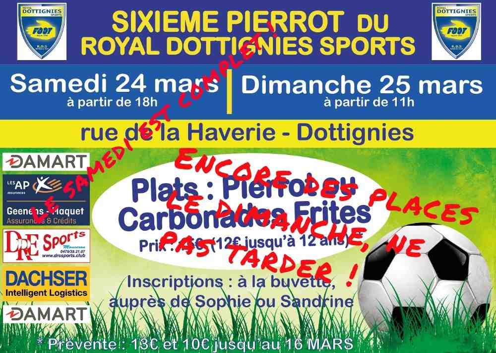 Traditionnel Repas du Royal Dottignies Sports