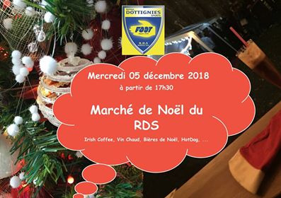 Marché de Noel au Royal Dottignies Sports